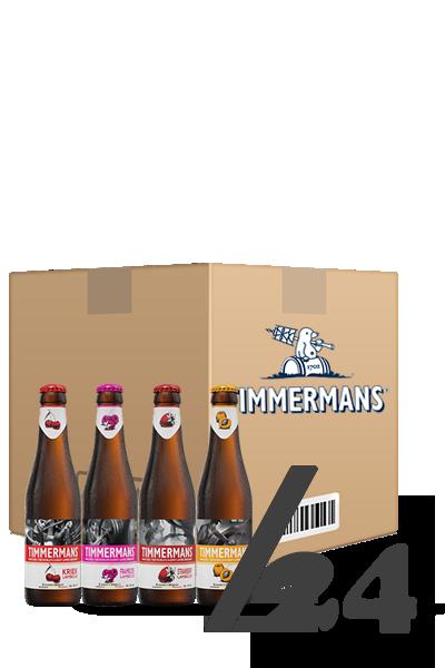 廷曼斯浪漫酸組合箱(箱:24入)-Timmermans  Lambicus  Fruit Box