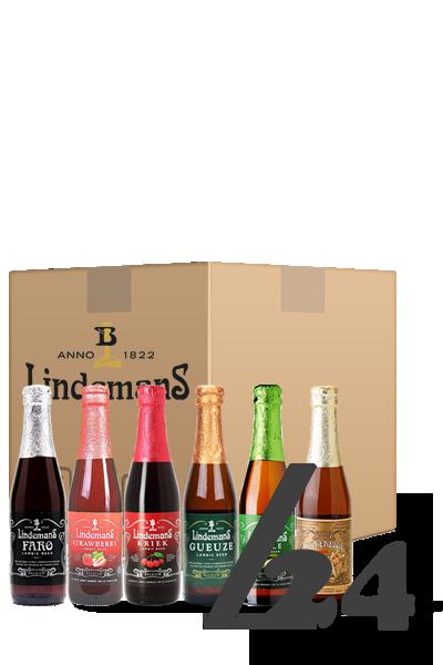 琳德曼華麗酸組合箱(箱:24入)-Lindemans Fruit Box