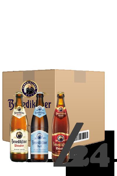 艾塔修道院啤酒_超值組(箱:24入)-Benediktiner Bier x 24