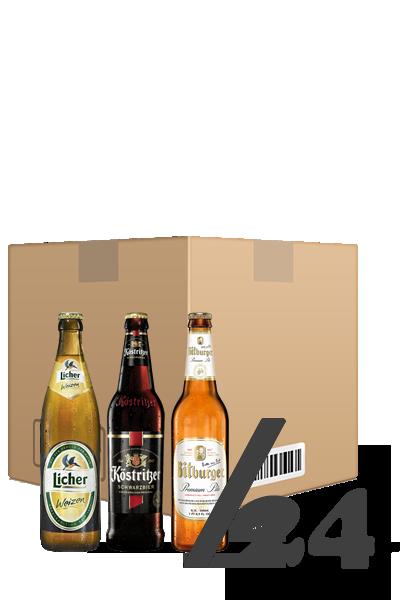 德國啤酒超級優惠組(箱:24入)-Bitburger x 24