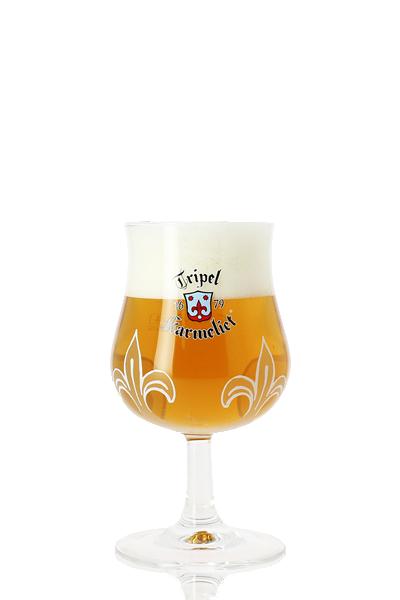 喀麥力-精釀啤酒(原廠杯)-Karmeliet Tripel Beer Glass