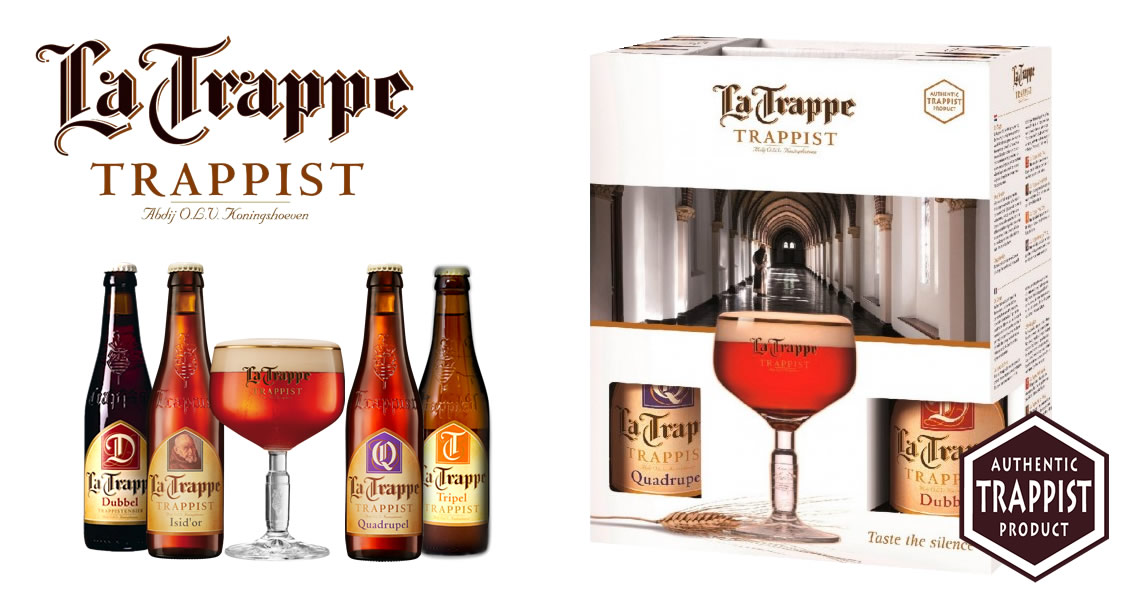 塔伯特系列啤酒禮盒(4B1G)-La Trappe Gift Pack