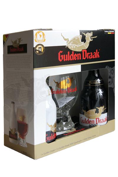 達克啤酒系列禮盒(2B1G)-Gulden Draak Gift