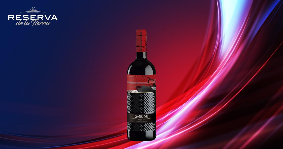 畫家與釀酒師_佳釀-梅洛紅葡萄酒-Satis Dei Merlot