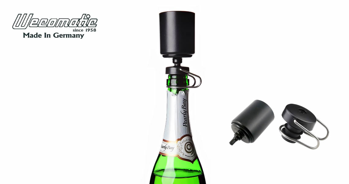 A飛天-氣泡保鮮打氣瓶塞-Wecomatic Champagne Fresh