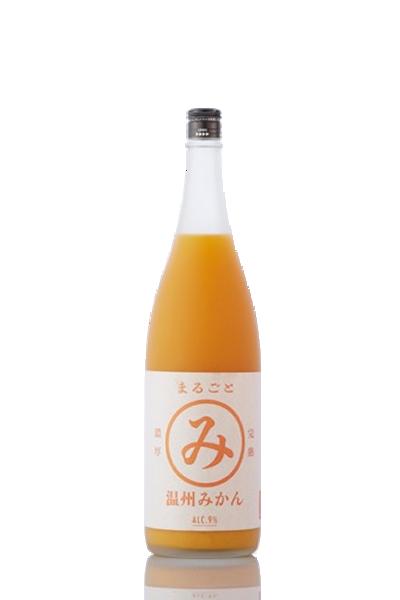 溫州熟成蜜柑酒-【KURAND】-KURAND 奈良県 まるごと完熟温州みかん