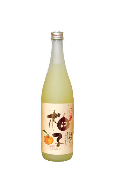經典柚子酒-【正春酒造】-正春の柚子