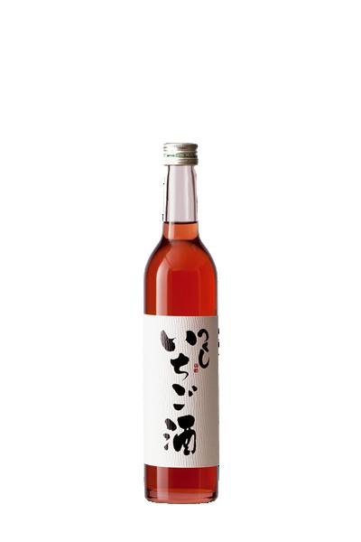 筑紫草莓酒-【西吉田酒造】-西吉田酒造 つくし いちご酒