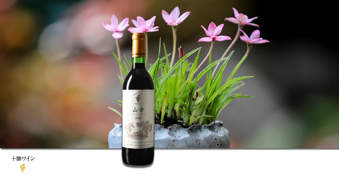 十勝-山幸紅葡萄酒-池田町ブドウ・ブドウ酒研究所-山幸