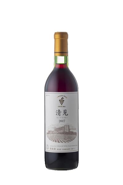 十勝-清見紅葡萄酒-池田町ブドウ・ブドウ酒研究所-清見