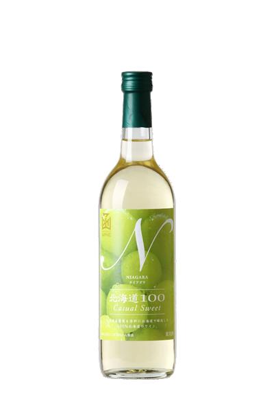 函館-北海道100-尼加拉白葡萄酒-北海道100-カジュアルスイート-ナイアガラ白