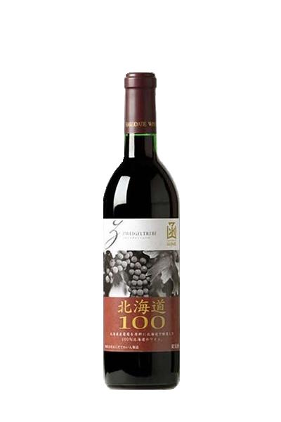 函館-北海道100-茨威格紅葡萄酒-北海道100-シリーズ ツヴァイゲルト・レーベ 赤