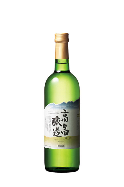清甜白葡萄酒-山形高畠-高畠ブラン 白甘口