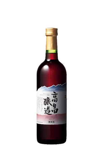 胭脂紅葡萄酒-山形高畠-高畠ルージュ
