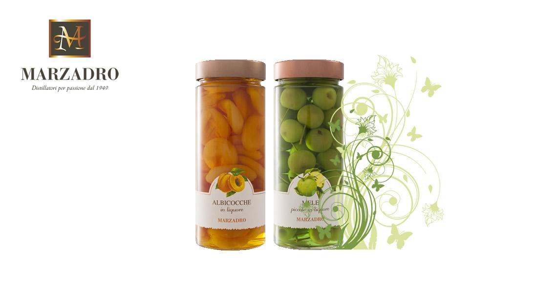 馬莎朵義式鮮果酒-小蘋果+杏桃-Distilleria Marzadro