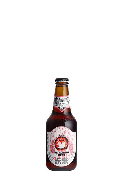 常陸野貓頭鷹-清酒啤酒(箱x24入)-常陸野ネストビール - レッドライス・エール x24