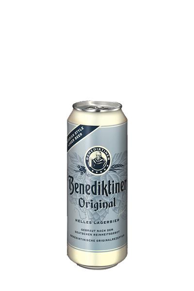 艾塔修道院經典淡精釀(罐裝)啤酒(500ml)-Benediktiner Hell Helles Lagerbier