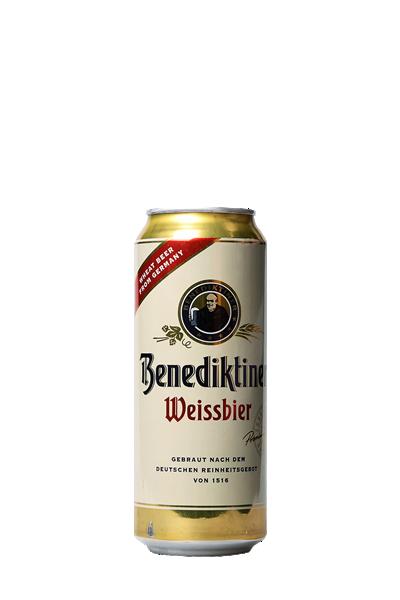 艾塔修道院小麥酵母精釀(罐裝)啤酒(500ml)-Benediktiner Weissbier
