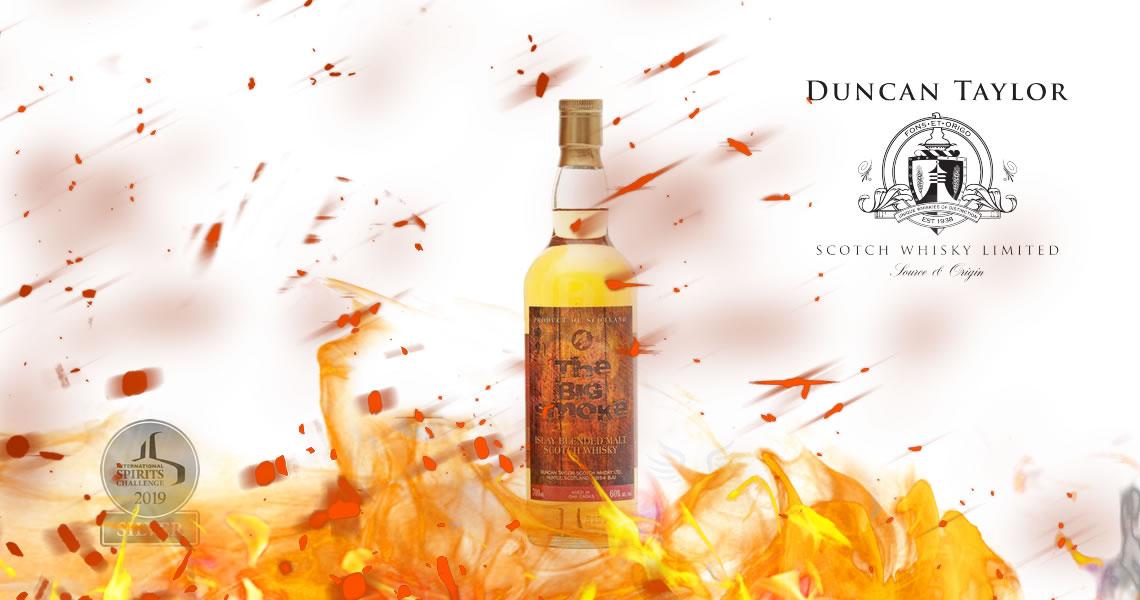 重煙燻艾雷威士忌(原酒等級)- 鄧肯泰勒-Duncan Taylor - The Big Smoke Islay Blended Malt Limited Batch 60%