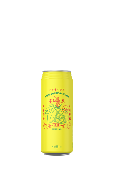 臺虎-臺式檸檬沙瓦(罐罐)-Lemon Formosawa (can) - Taihu Brewing
