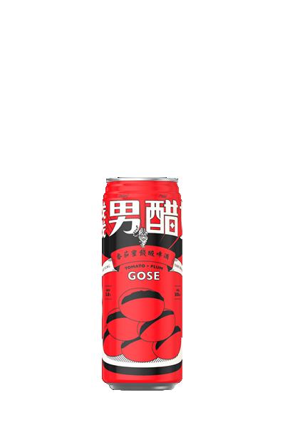 臺虎-餞男醋女酸啤酒-Tomato + Plum Gose - Taihu Brewing