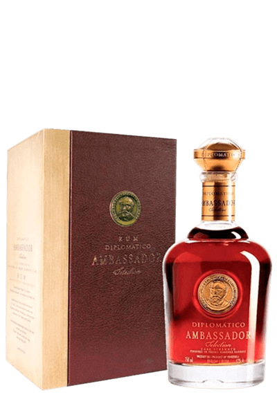 外交官頂級精釀蘭姆酒-Diplomatico Ambassador 14Y