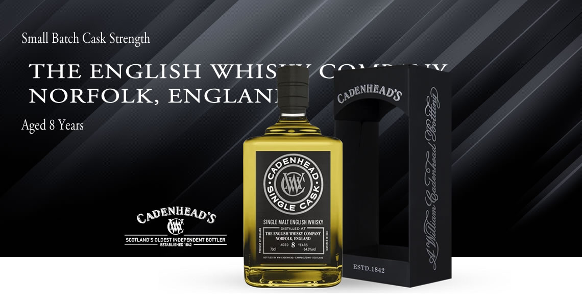 英格蘭《2010》8年-單一麥芽威士忌原酒-凱德漢裝瓶-THE ENGLISH WHISKY COMPANY,NORFOLK, ENGLAND 2010 8Y - Cadenhead′s