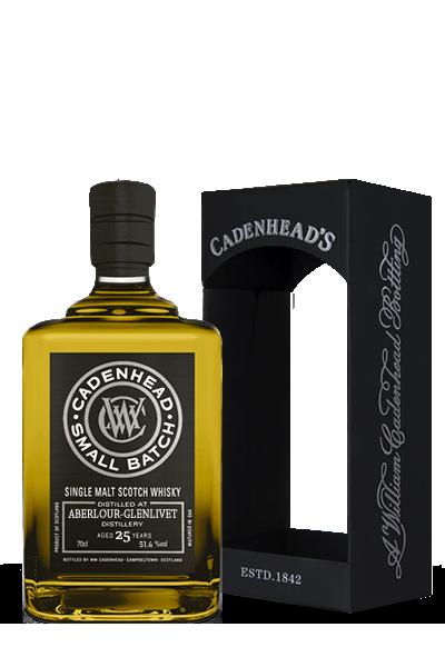 亞伯樂《1990》25年-單一麥芽小批次限量威士忌原酒-凱德漢裝瓶-ABERLOUR Small Batch Single Malt  1990 25Y - Cadenhead′s