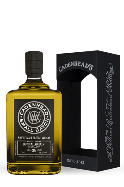 布納哈本《1976》39年-單一麥芽小批次限量威士忌原酒-凱德漢裝瓶-BUNNAHABHAIN Small Batch Single Malt  1976 39Y - Cadenhead′s