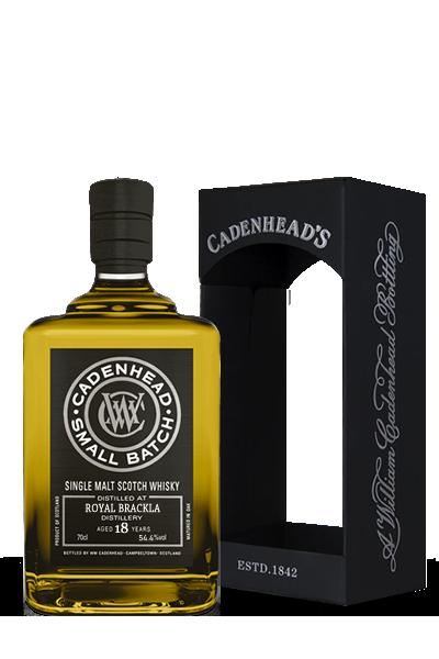 布萊克拉《1989》26年- 單一麥芽小批限量威士忌原酒-凱德漢裝瓶-ROYAL BRACKLA  Small Batch  Single Malt  1989 26Y - Cadenhead′s
