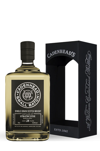 史拉斯克德《1989》28年- 單一穀類小批限量威士忌原酒-凱德漢裝瓶-STRATHCLYDE Small Batch Single Grain  1989 28Y - Cadenhead′s