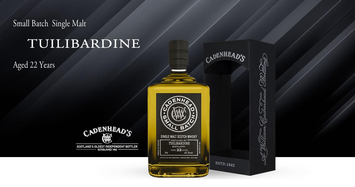 圖利巴登《1984》30年- 單一麥芽小批限量威士忌原酒-凱德漢裝瓶-TULLIBARDINE Small Batch  Single Malt 1993 22Y - Cadenhead′s
