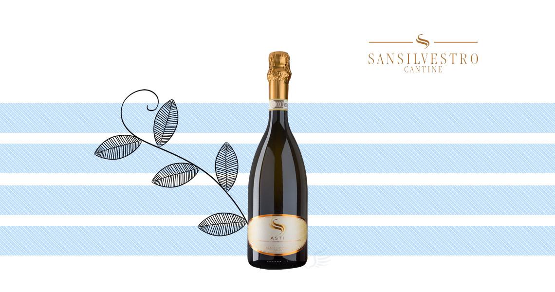 聖西爾維斯特-阿始提氣泡酒    -San Silvestro Asti DOCG NV