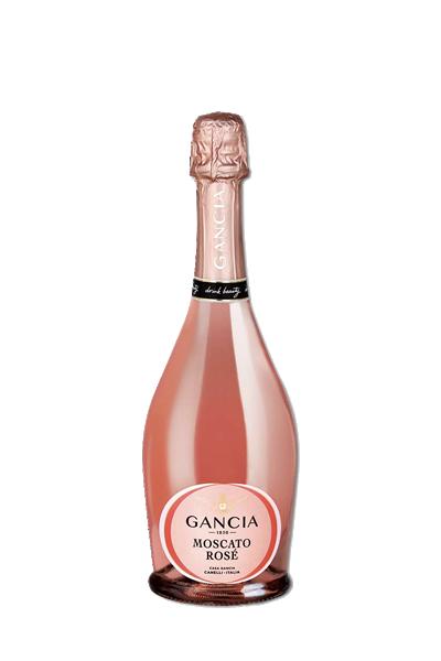 義大利崗夏蜜思嘉微甜汽泡酒-Gancia Moscato Rose