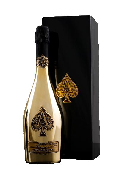 法國黑桃王璀璨金香檳-ARMAND DE BRIGNAC,ACE OF SPADES BRUT GOLD