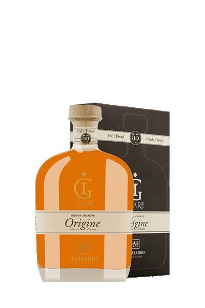 原桶強度陳年義式白蘭地-Giare Origine - Marzadro