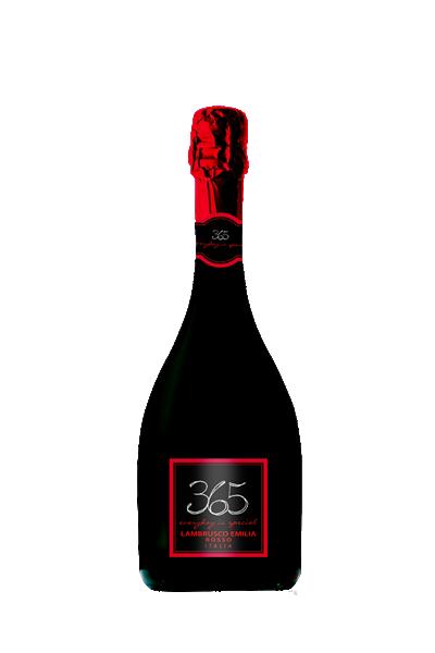 卡迪拉-365紅蘋果氣泡酒-Caldirola 365 lambrusco