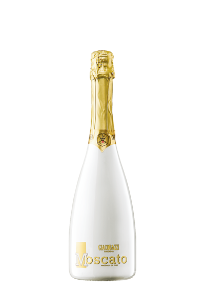 百合白莫斯卡托甜氣泡酒-GIACOBAZZI MOSCATO SWEET WHITE SPARKLING WINE (WHITE COLORED BOTTLE)