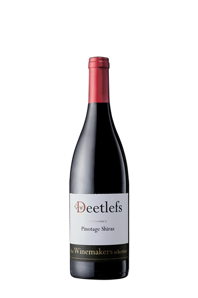 皮諾塔吉施赫紅葡萄酒-迪拉司酒莊-Deetlefs The Winemakers Selection Pinotage Shiraz