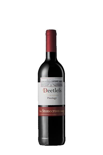 交叉石皮諾塔吉紅葡萄酒-迪拉司酒莊-Deetlefs Stonecross Pinotage
