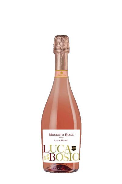 路卡波希粉紅氣泡酒-Luca Bosio Moscato Sparkling Rose