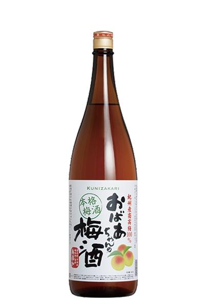 國盛 本格梅酒-中埜酒造 1800ml-國盛 おばあちゃんの梅酒- 中埜酒造株式會社1800ml