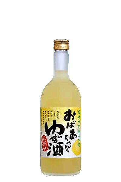 國盛 柚子酒-中埜酒造 720ml-國盛 おばあちゃんのゆず酒 - 中埜酒造株式會社720ml