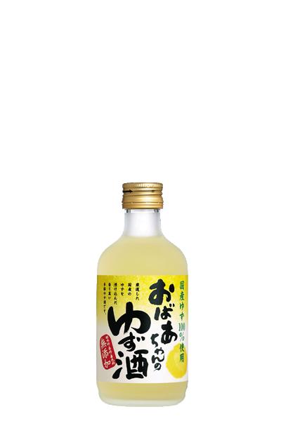 國盛 柚子酒-中埜酒造 300ml-國盛 おばあちゃんのゆず酒 - 中埜酒造株式會社300ml