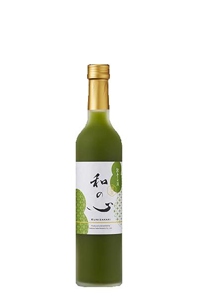 國盛 和心抹茶酒-中埜酒造-國盛 和の心 抹茶のお酒