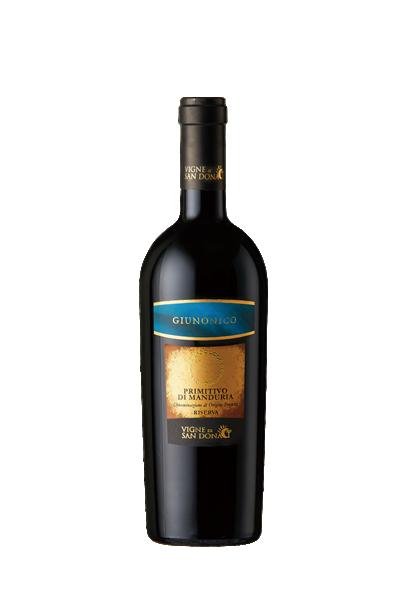 「朱諾尼可」普里米蒂沃陳釀紅葡萄酒-Giunonico-Primitivo di Manduria DOC