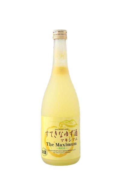 極上柚子酒(限定版)-すてきなゆず酒 The Maximum - 麻原酒造