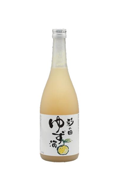 彩之國柚子酒-彩の国 柚子酒 - 麻原酒造