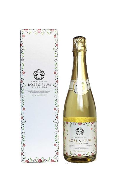 東農園玫瑰氣泡梅酒-バラ梅酒スパ-クリング