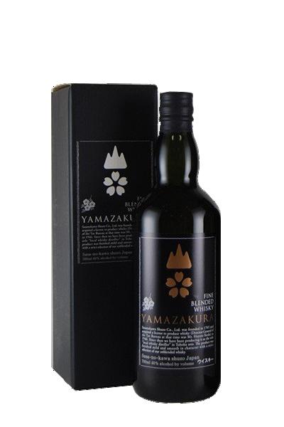 山櫻威士忌-ブレンデッドウイスキー山桜